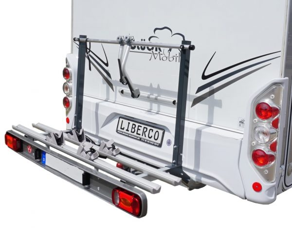 2 Bicycle Fold Up Chassis Mounted Carrier