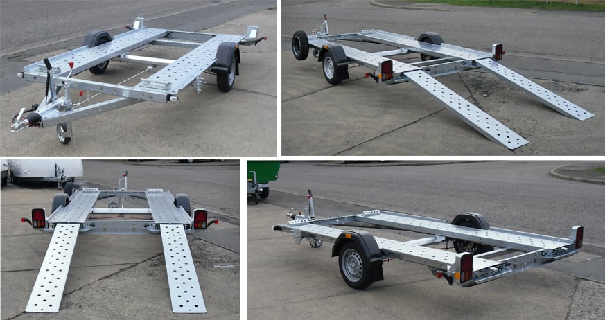 Small Car Transporter Trailers